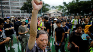 متظاهرون في هونغ كونغ السبت 17 أغسطس 2019