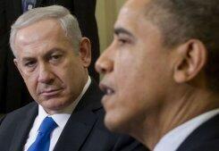 Le Premier ministre israélien et le président américain.