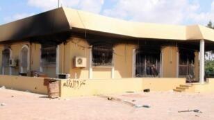 Le consulat américain de Benghazi attaqué le 11 septembre 2012.