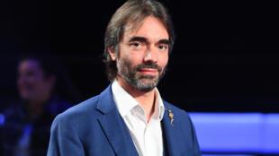 Cédric Villani, candidat ex-LREM à la mairie de Paris, le 10 mars 2020 à Paris, avant un débat entre les candidats à la mairie de Paris