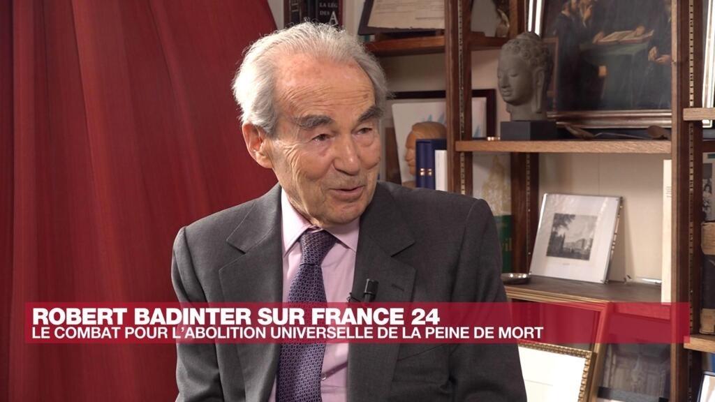 """Robert Badinter : """"La peine de mort remplit une autre fonction que la lutte contre le crime"""""""