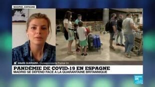 2020-07-27 10:03 Covid-19 : L'Espagne tente de rassurer pour ne pas perdre ses touristes