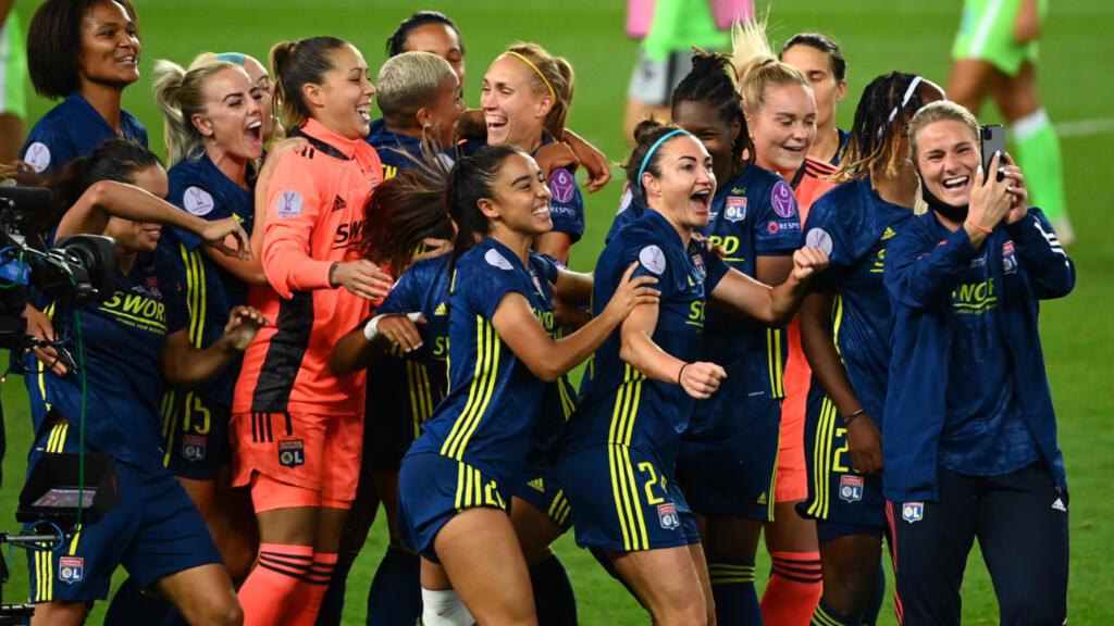 Ligue des champions féminine : l'Olympique lyonnais remporte un septième titre face à Wolfsburg