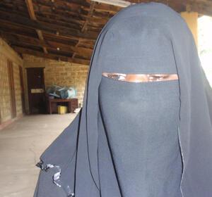 Months after her husband, Muslim cleric Mohammed Kassim, went missing, Salma Ali Abdallah is still seeking answers. (Photo: D. Bouclon)