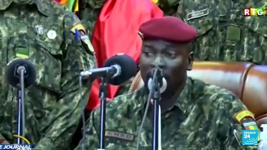 2021-09-15 08:13 Guinea post-coup transition: 'No overflow will be accepted,' junta leader says