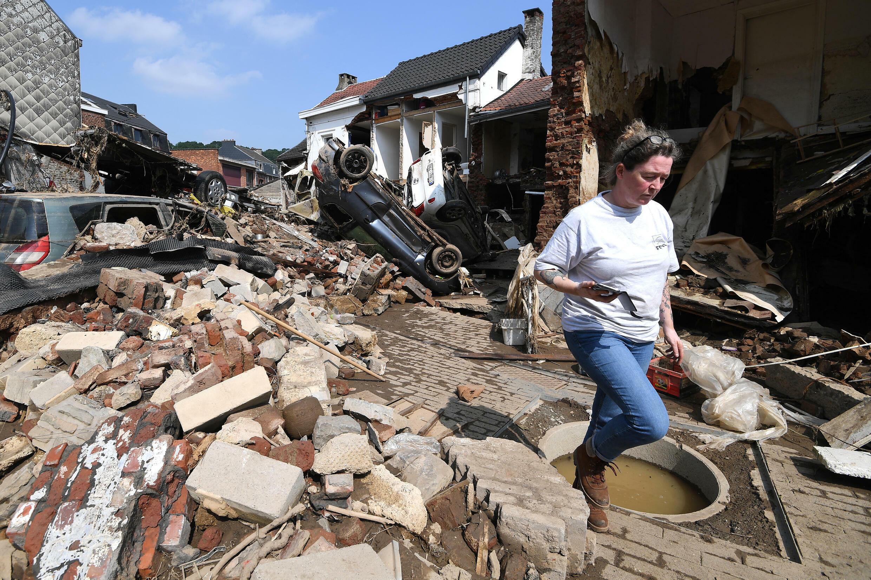 Liege belgium flood