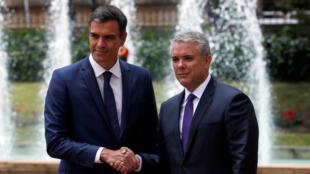 Presidente Iván Duque recibe al Presidente español Pedro Sánchez