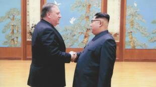 Mike Pompeo ya había conocido a Kim Jong-un el 26 de abril de 2018 en Pyongyang.