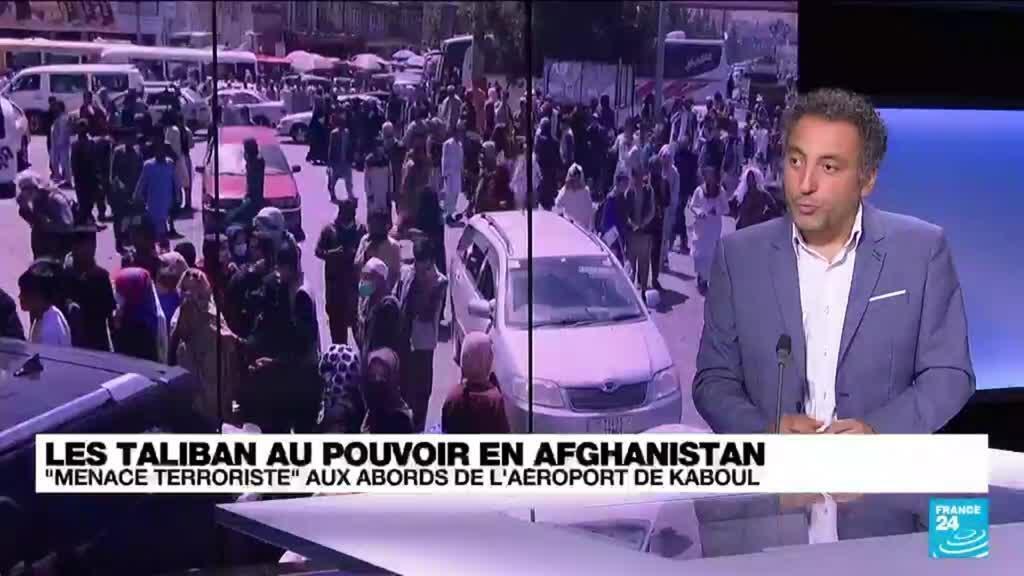 2021-08-26 14:32 Les Taliban au pouvoir en Afghanistan : la menace de l'EI plane sur l'aéroport de Kaboul