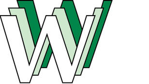 Le tout premier logo du web conçu par Robert Cailliau au Cern.