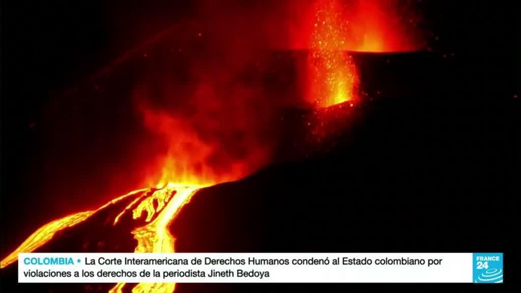 2021-10-19 19:12 Un mes de intensa actividad volcánica en la isla española de La Palma