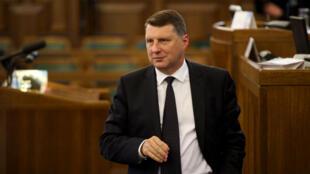 Raimonds Vejonis, premier président vert de l'Union européenne.