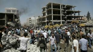تفجير في مدينة القامشلي السورية