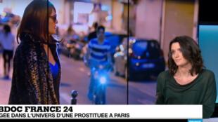 La journaliste Charlotte Oberti a suivi durant plusieurs mois une prostituée de la rue Saint-Denis, à Paris.