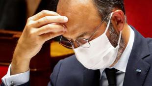 Edouard Philippe, alors Premier ministre, le 23 juin 2020 à l'Assemblée nationale à Paris
