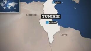 La ville de Kebili est située dans le Sud de la Tunisie.
