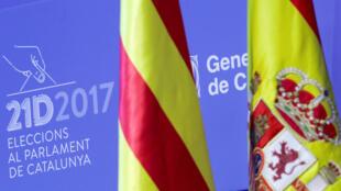 Los catalañes votarán en elecciones regionales el 21 de diciembre del 2017.