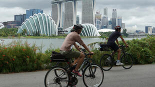 Singapore (pictured) and Hong Kong have long been compared