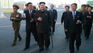 Kim Jong-un, le dirigeant communiste du pays le plus fermé au monde.