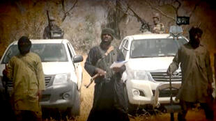 A man described as Boko Haram leader Abubakar Shekau has appeared in a new YouTube video