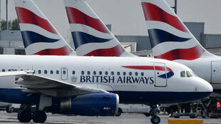 La quasi-totalité de la flotte British Airways devrait rester clouée au sol lundi9septembre au Royaume-Uni.