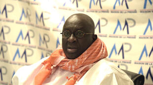 Senegal has refused to extradite Papa Massata Diack, seen giving a press conference in Dakar on September 14, to face trial in France