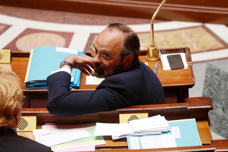 Édouard Philippe à l'Assemblée nationale mercredi 29 avril 2020.