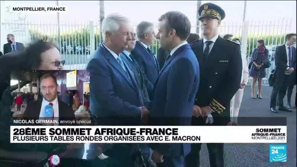 2021-10-08 14:34 Sommet Afrique-France : plusieurs tables rondes organisées avec Emmanuel Macron