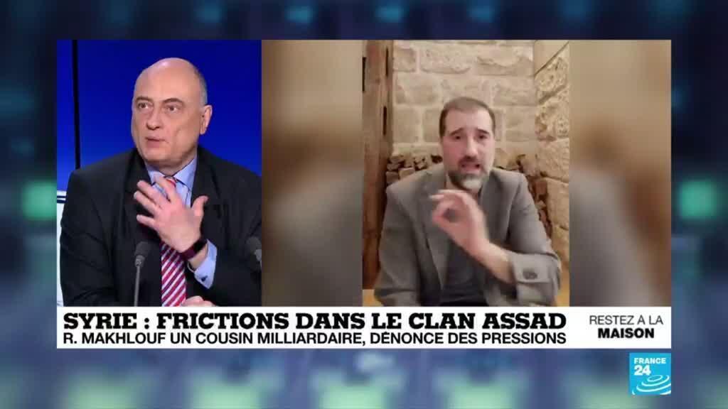 2020-05-05 17:11 Syrie : un homme d'affaires controversé, cousin milliardaire de Bachar, dénonce des pressions