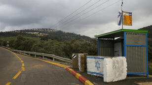 Une route menant à la colonie israélienne de Dolev, où Airbnb proposait des offres jusqu'à sa décision du 19 novembre 2018.