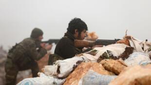 عملية عسكرية تشنها تركيا وحلفاؤها من المعارضة السورية في عفرين.