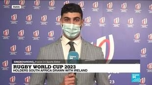 2020-12-14 15:05 Hosts Les Bleus face the All Blacks in the pool stage of the 2023 Rugby World Cup