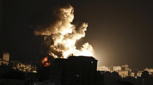 Gaza Israel air strike