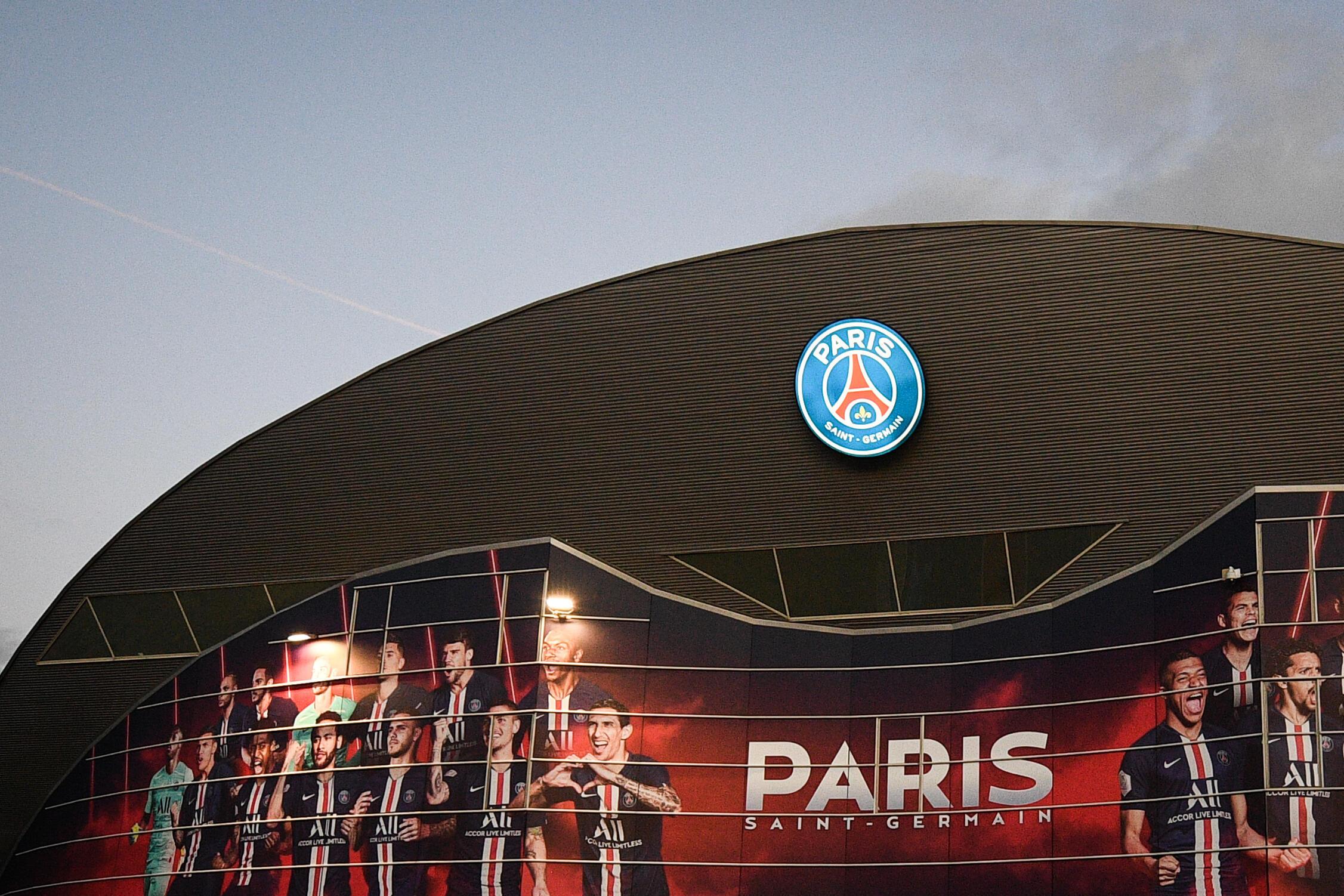 L'extérieur du Parc des Princes, où évolue le PSG, le 11 mars 2020.