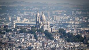 Vue de Paris, le 6 août 2018.