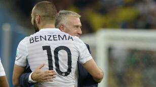 """Karim Benzema a été déclaré non-sélectionnable en raison de sa mise en examen dans l'affaire du chantage à la """"sextape""""."""