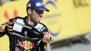 السائق الفرنسي سيباستيان أوجييه بطل العالم للراليات لخمس مرات متتالية