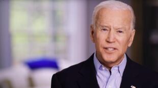 L'ancien vice-président démocrate Joe Biden annonce sa candidature à la Maison Blanche, le 25 avril 2019.