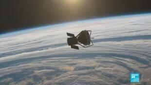 2020-12-02 09:12 Sonde chinoise sur la lune : une mission pour récolter des échantillons lunaires