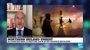 2021-04-09 12:04 Belfast in turmoil as Brexit stokes tensions in Northern Ireland