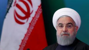 El presidente de Irán, Hasán Rohani. Imagen de archivo.