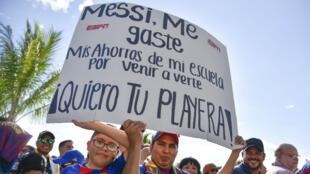 La ferveur était là en juillet 2017 lors du match amical entre le FC Barcelone de Messi et le Réal Madrid de Ronaldo organisé aux États-Unis.