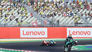 Franco Morbidelli won his first ever MotoGP on Sunday