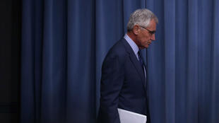 Chuck Hagel, secrétaire américain à la Défense, à la tête du Pentagone depuis janvier 2013, démissionne.