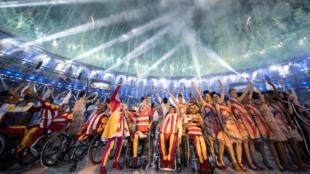 Jusqu'au 18 septembre, 4342 athlètes de 159 nations vont rivaliser dans 22 disciplines.