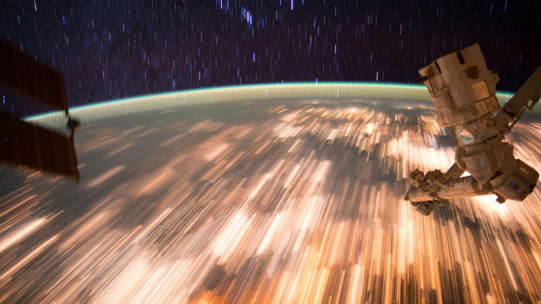 La Terre vue depuis la Station spatiale internationale.