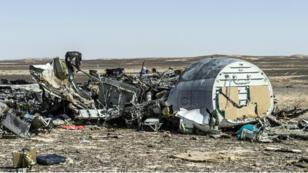 Au total, 224 personnes ont péri dans le crash de l'Airbus A321-200 de Metrojet, le 31 octobre 2015.