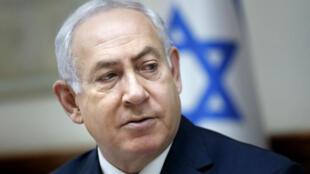 """Le Premier ministre israélien, Benjamin Netanyahou, a annoncé le 19 février 2018 un contrat gazier """"historique"""" avec l'Égypte."""