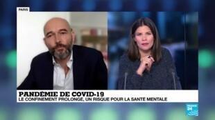 2020-04-20 12:06 Pandémie de Covid-19 : Le confinement prolongé, un risque pour la santé mentale ?