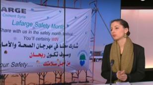 La journaliste Dorothée Myriam Kellou à l'origine des révélations sur Lafarge en Syrie.